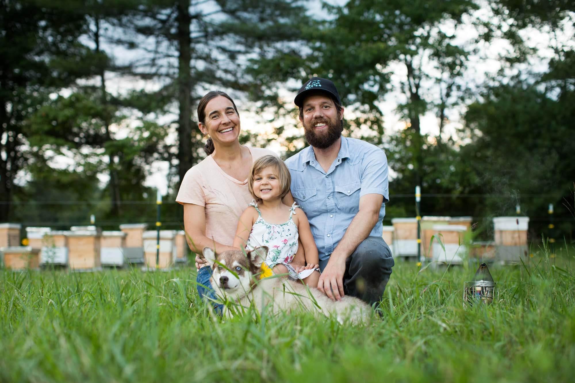 Bee. Honey and Hive | Brevard, NC